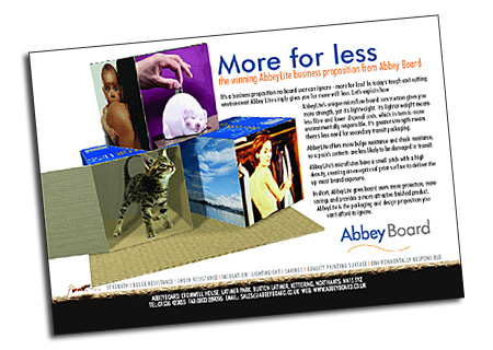 Abbey Board advertisement