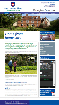 westhorpe website
